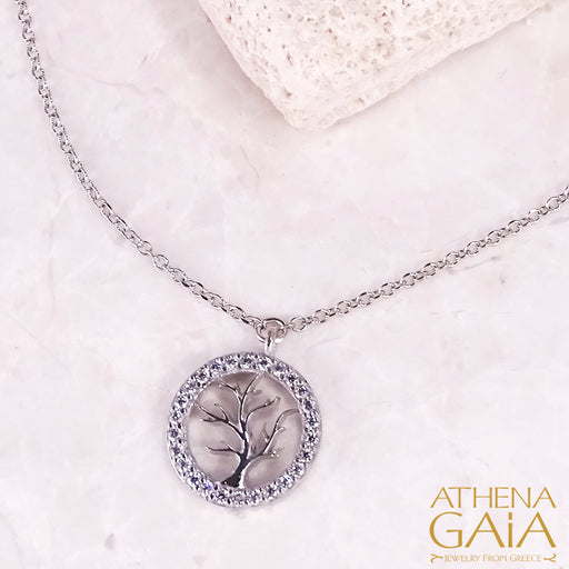 Tree of Life Open Necklace