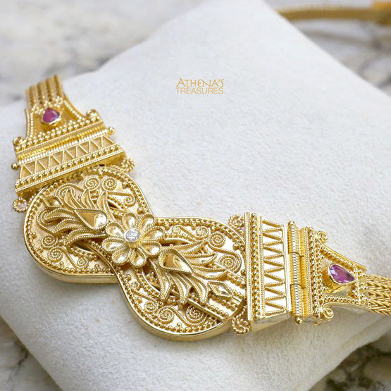 18k Gold Heracles Necklace
