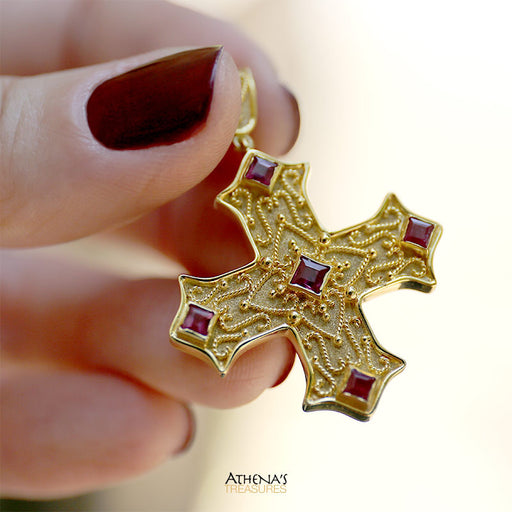 Damaskos Martile Coptic Cross