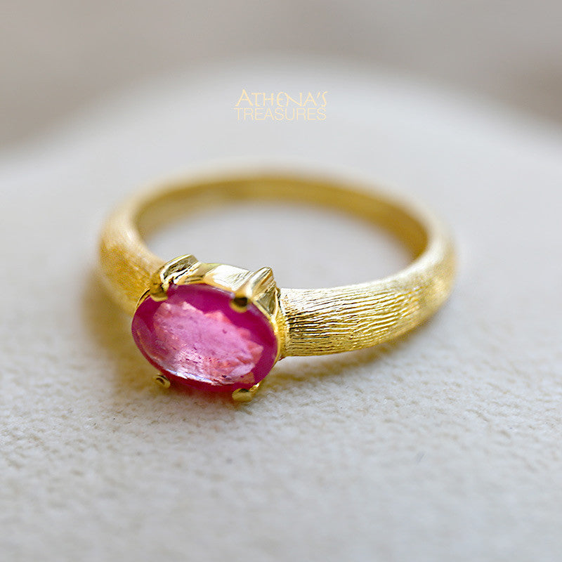 Rose Cordial Pink Sapphire Ring