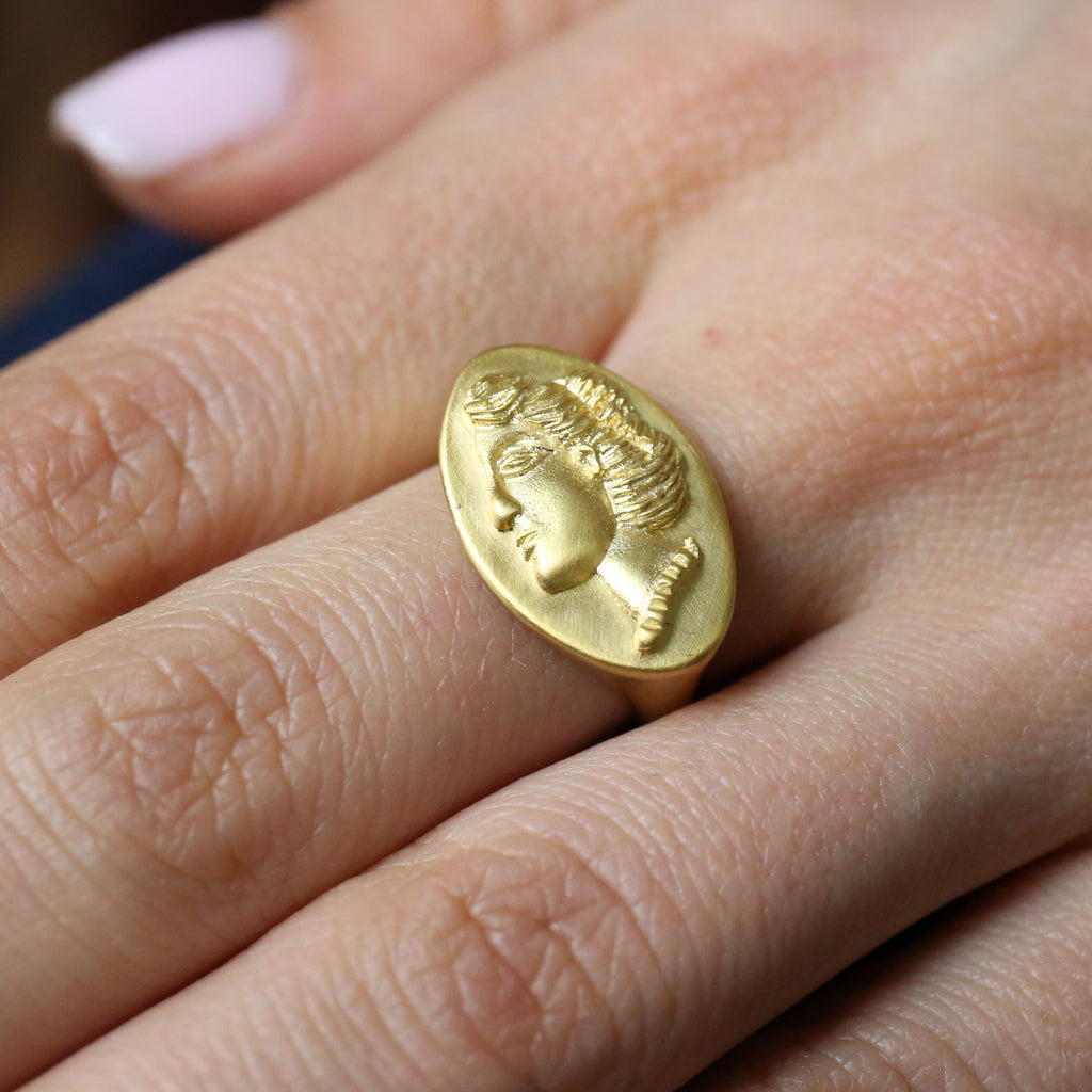 "Museum Reproduction ""Girl"" Ring"