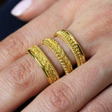 Damaskos Braids & Weave Stackable Ring