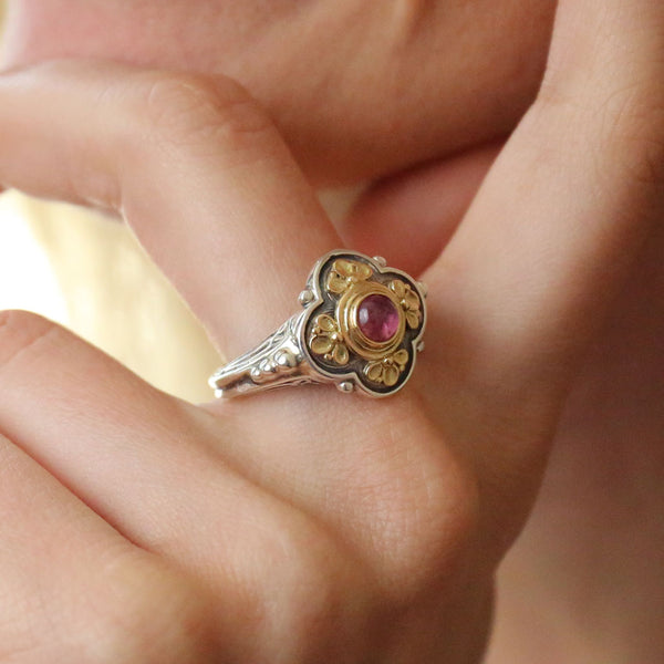 Athenian Flower Ring