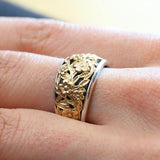Gerochristo Flower Band Ring