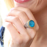 Pop Rocks Kiklos Crown Ring