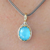 Pop Rocks Oval Pendant