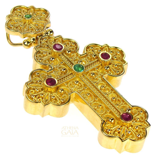 Baroque Medium Western Faith Cross