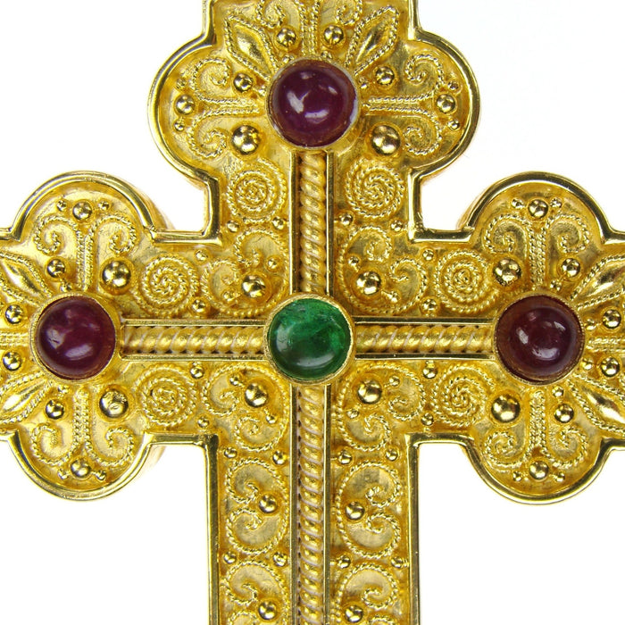 Baroque Large Western Faith Cross