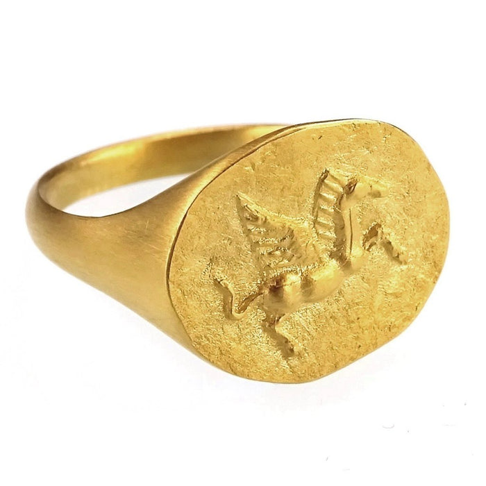 Museum Reproduction Pegasus Ring