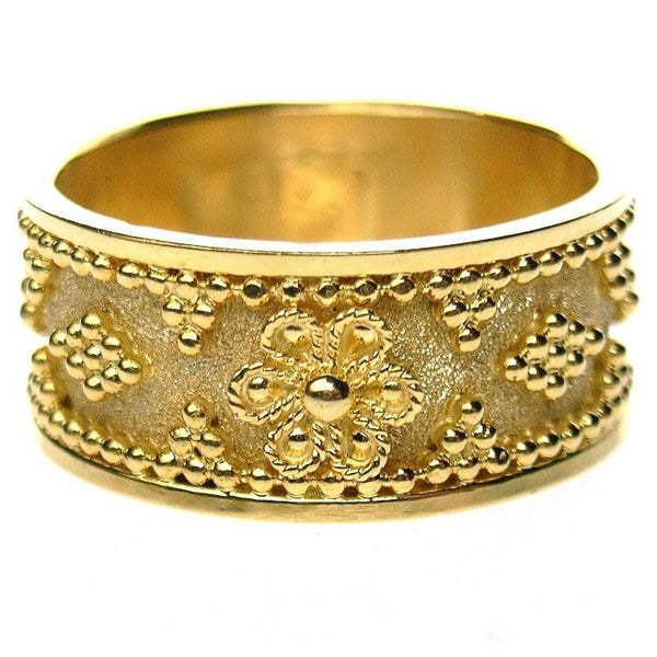 Flower Band Ring