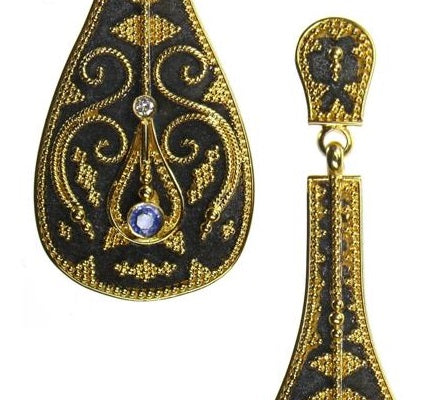 Pandouris Lute Earrings