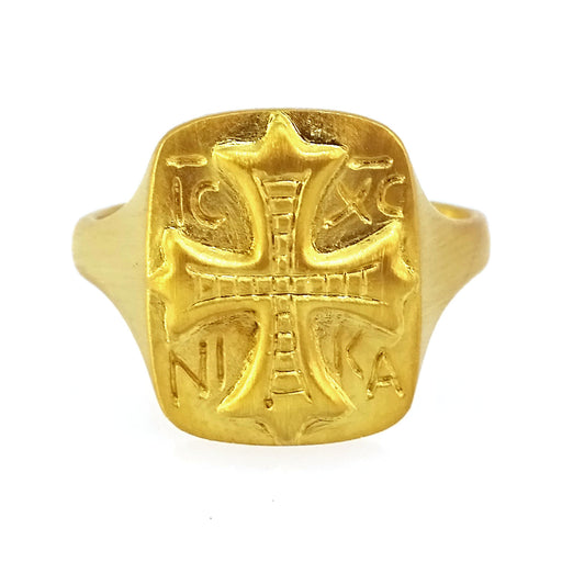ICXC NIKA (Christ Victorious) Ring
