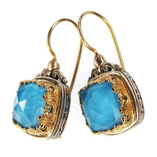 Pop Rocks Square Earrings