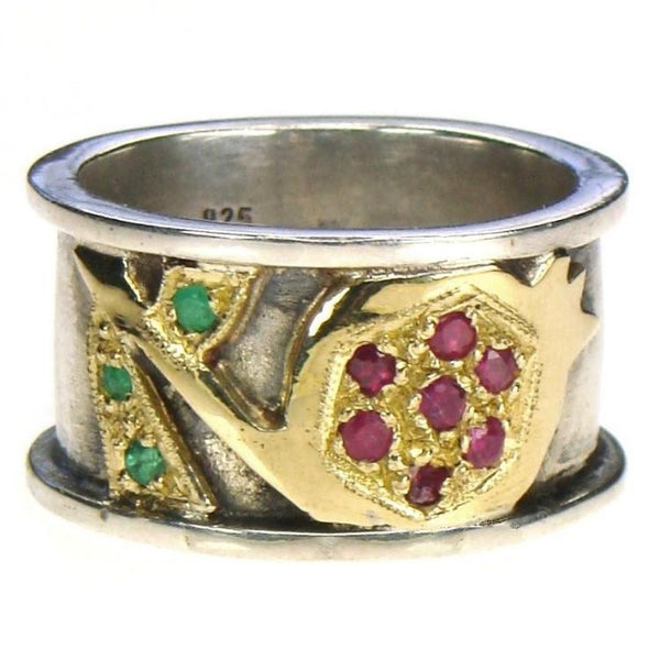 Evangelatos Pomegranate Ring