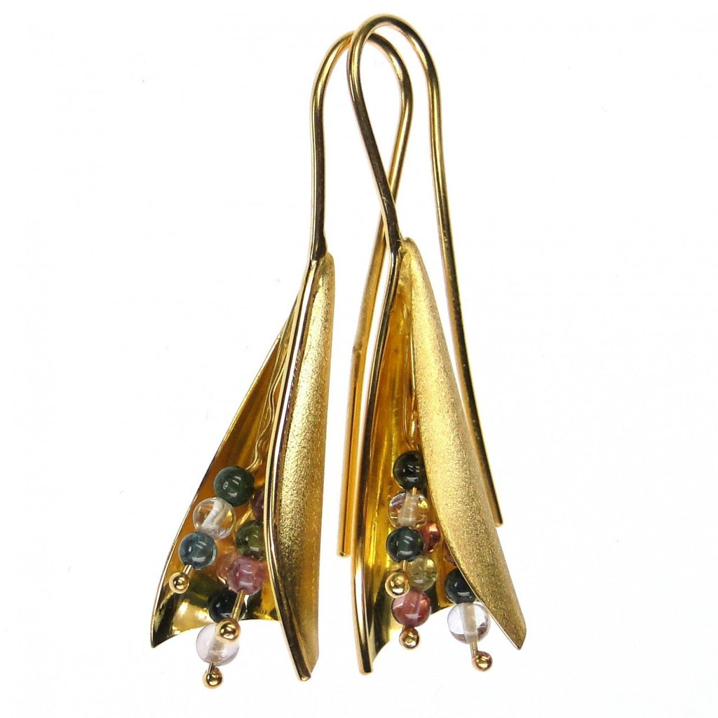Tourmaline Bouquet Earrings