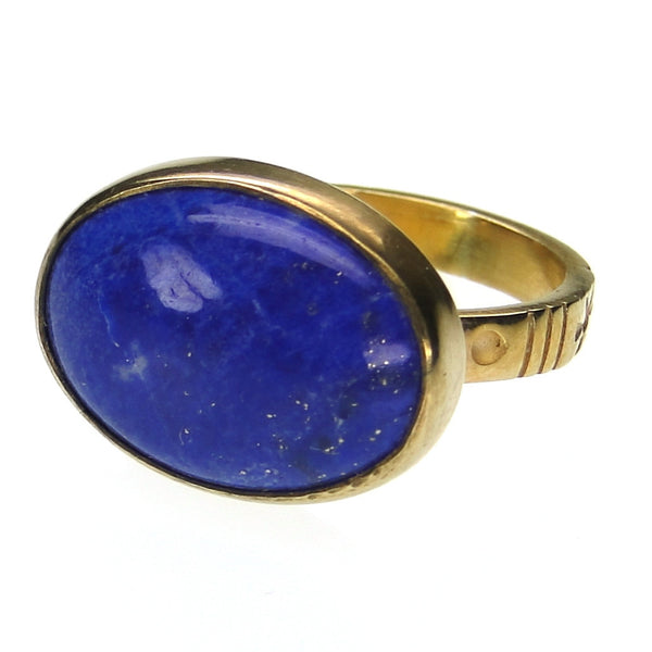 Evangelatos Rustic Lapis Ring