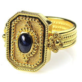 Sapphire Cyclades Ring