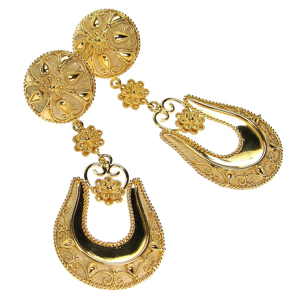 Knossos Drops Earrings