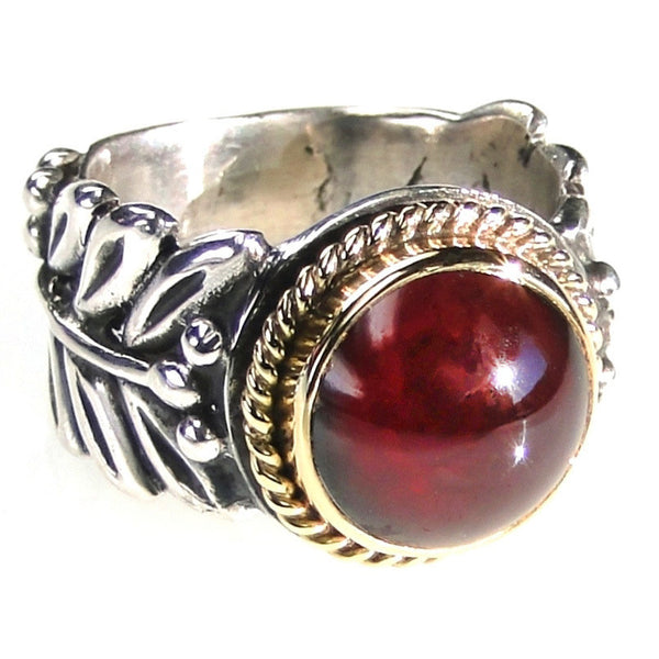 Evangelatos Branch Band Ring