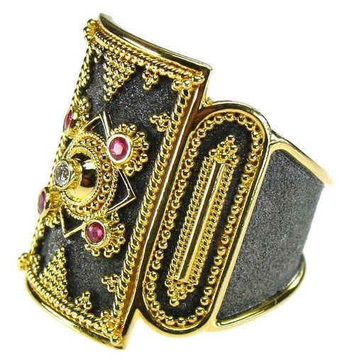 Roman Shield Ring