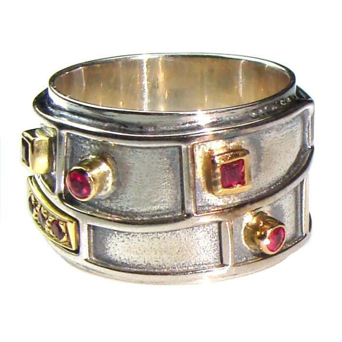 Evangelatos Light Geologic Band Ring