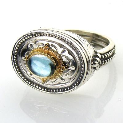 Cyclades Oval Ring