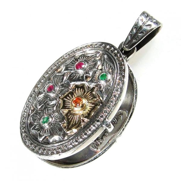 Flower Field Locket