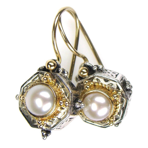 Cyclades Octagon Earrings