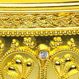 18k Gold Iraklion Cuff Bracelet detailed