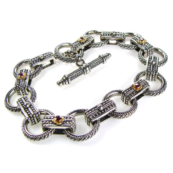 Ruby Road Empty Charm Bracelet