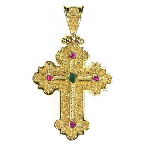 Baroque Small Western Cross