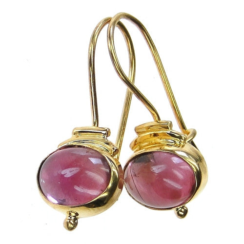 Evangelatos Tourmaline Wire Earrings