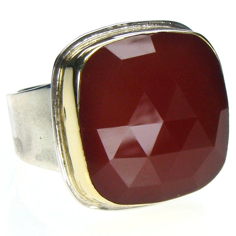 Evangelatos Carnelian Ring