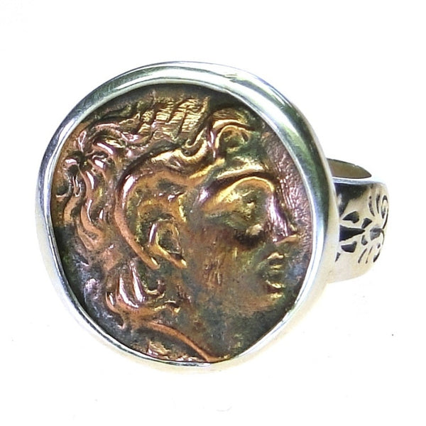 Evangelatos Alexander Coin Ring