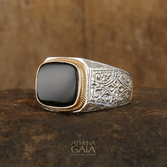 Gerochristo Men's Band Ring