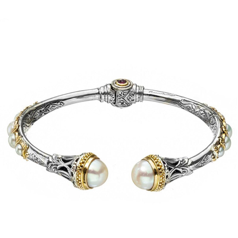 Santorini Open Bangle Bracelet