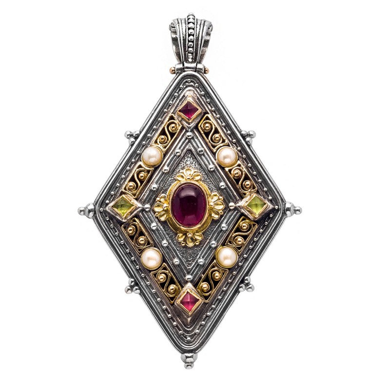Monesteraki Church Byzantine Pendant