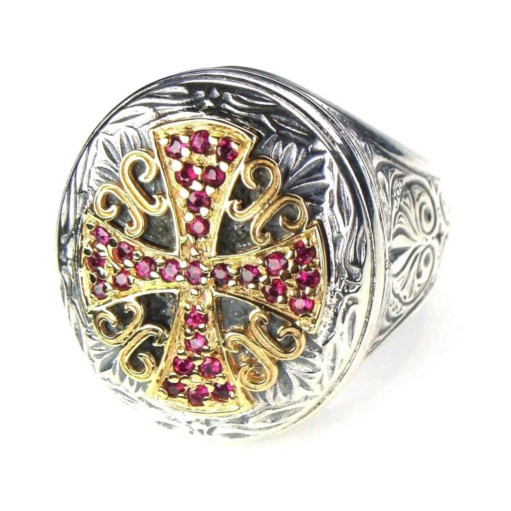Ruby Cross Synergy Ring