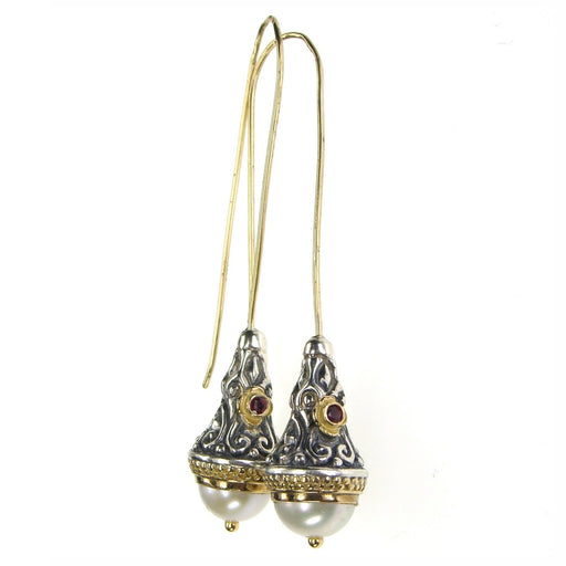 Santorini Wire Drop Earrings