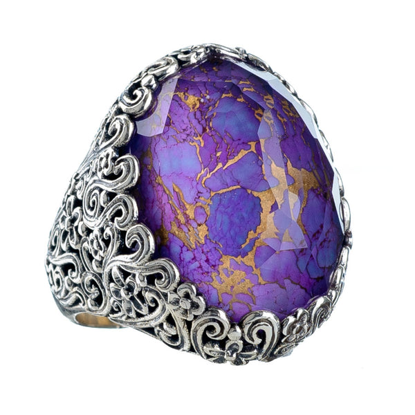 Pop Rocks Soleirolia Silver Ring