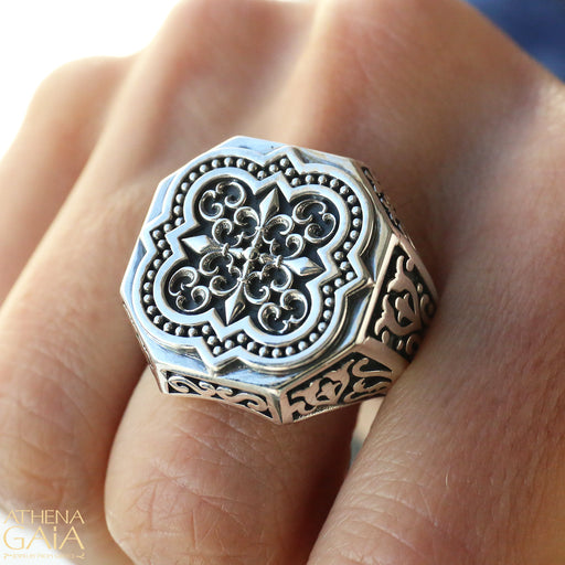 Synergy Faith Cross Ring