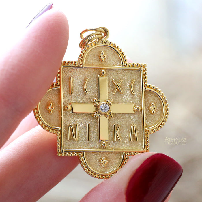 ICXC NIKA Large Faith Cross