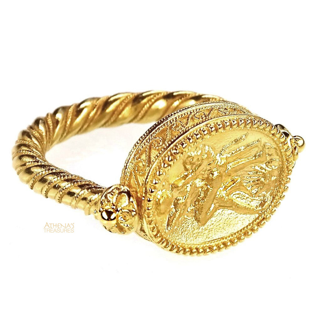Museum Reproduction Dionysos Flip Ring