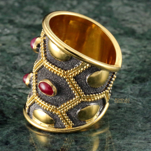 Ruby Nights Ring
