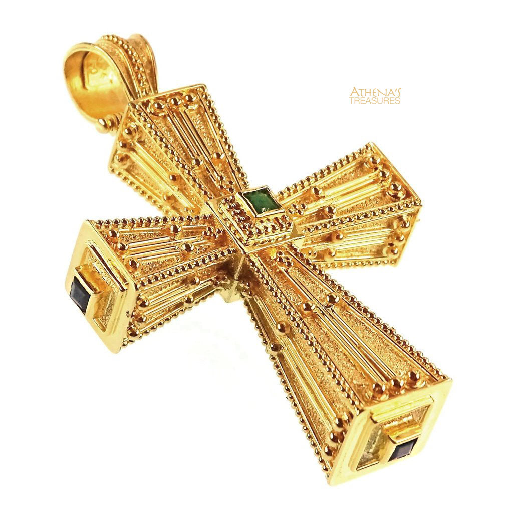 Squared Imperial Orthodox Cross