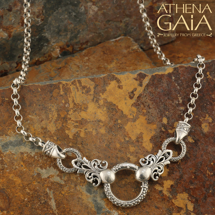 The Heavy Silver Loop Chain