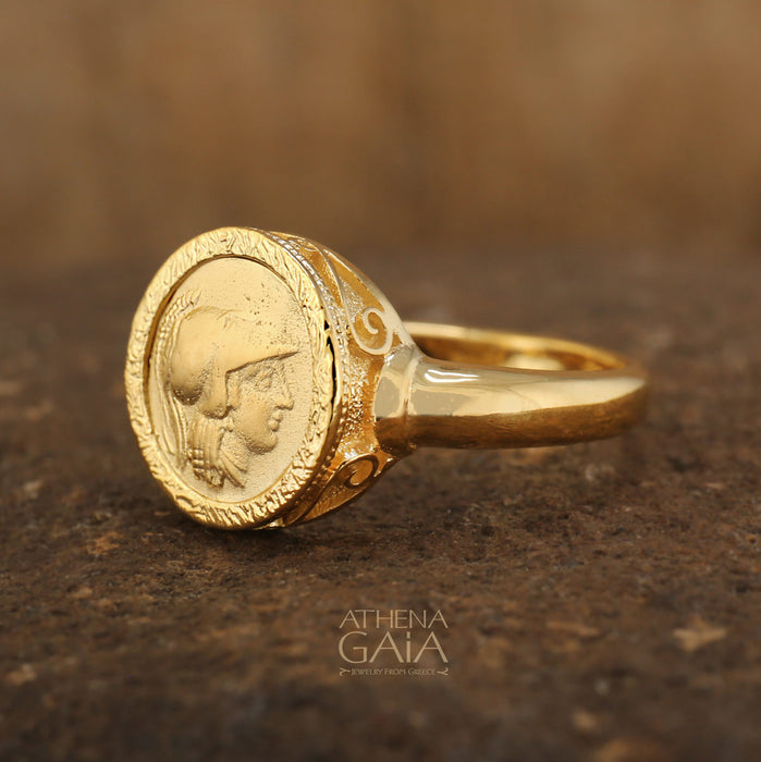 Museum Replica Athena Ring