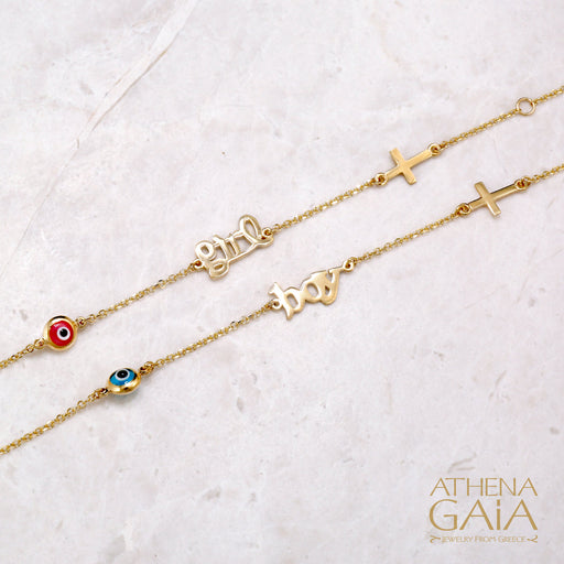 Girl Mati Cross Bracelet