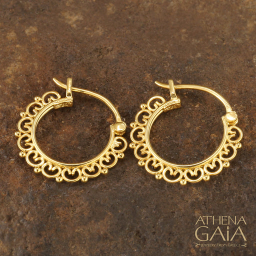 Synergy Arched Hoop Earrings — Small