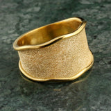 Sandy Dune Band Ring